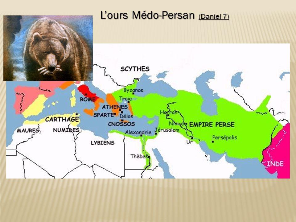 Lours Médo-Persan (Daniel 7) Lours Médo-Persan (Daniel 7)
