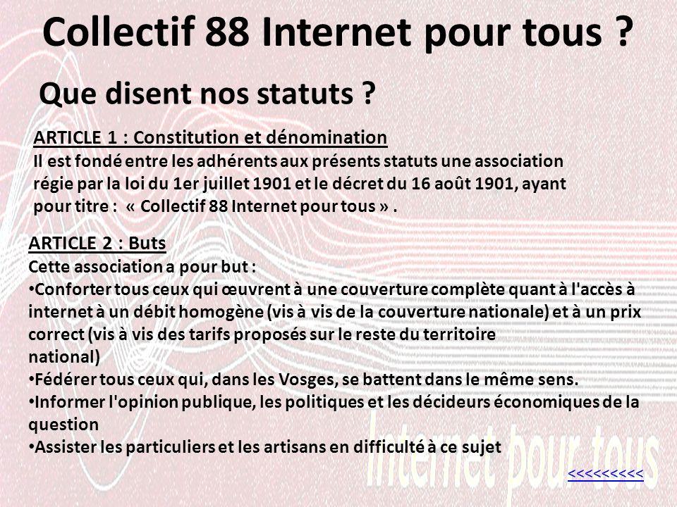 Collectif 88 Internet pour tous .