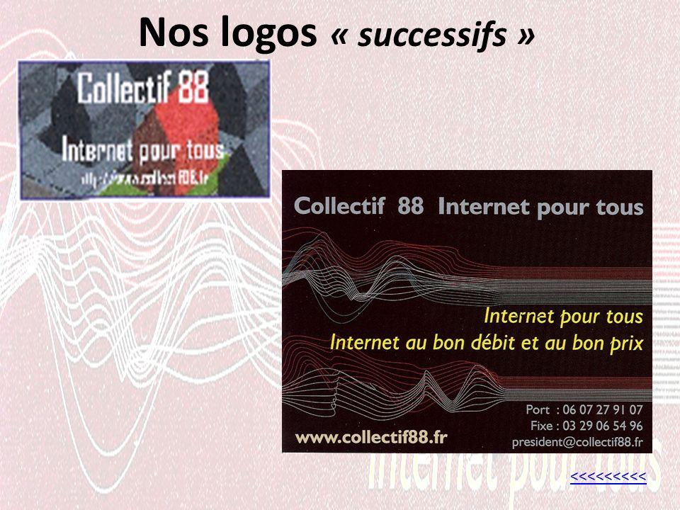 Nos logos « successifs » <<<<<<<<<