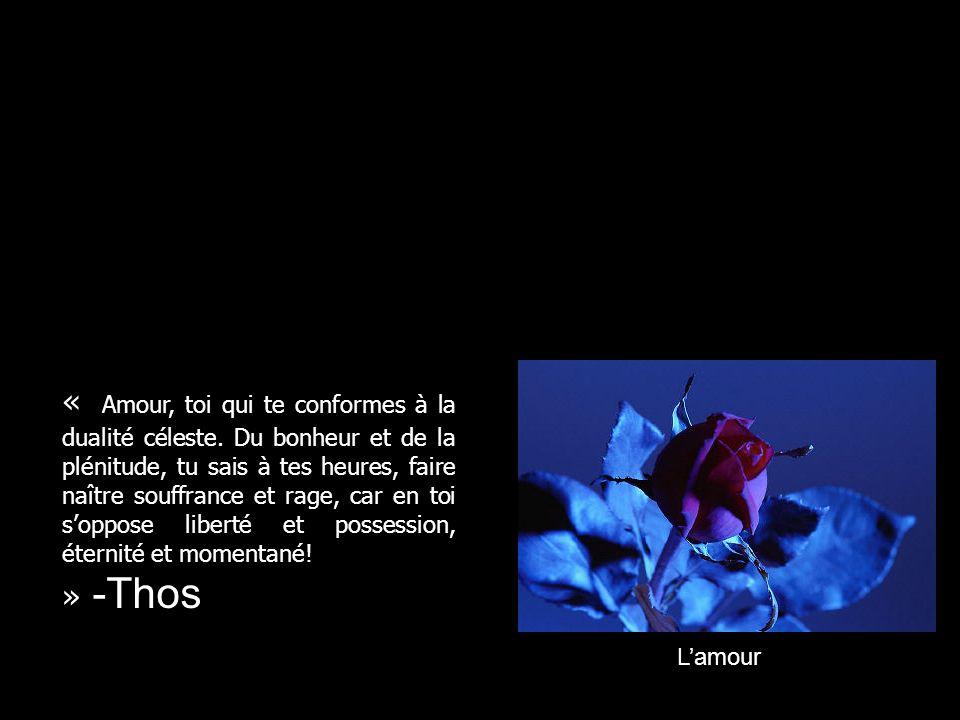 Lamour « Lamour est un baume que lon applique sur les plaies ouvertes par la vie.