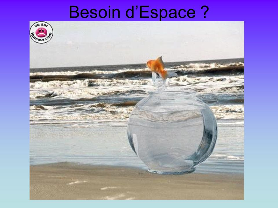 Besoin dEspace