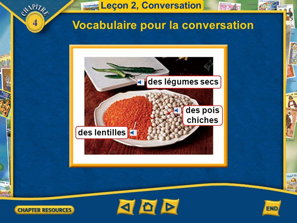 4 Vocabulaire pour la conversation Leçon 2, Conversation un bonbon Cette année le Ramadan sera au mois de juin.