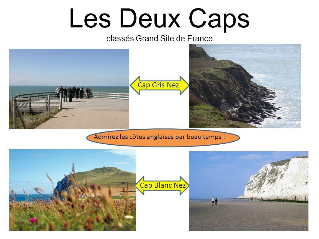 Les Deux Caps classés Grand Site de France Cap Gris Nez Cap Blanc Nez Admirez les côtes anglaises par beau temps !