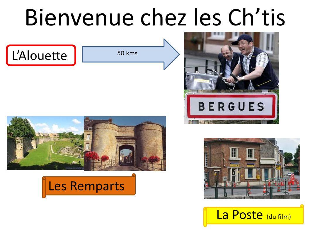 Bienvenue chez les Chtis LAlouette 50 kms Les Remparts La Poste (du film)