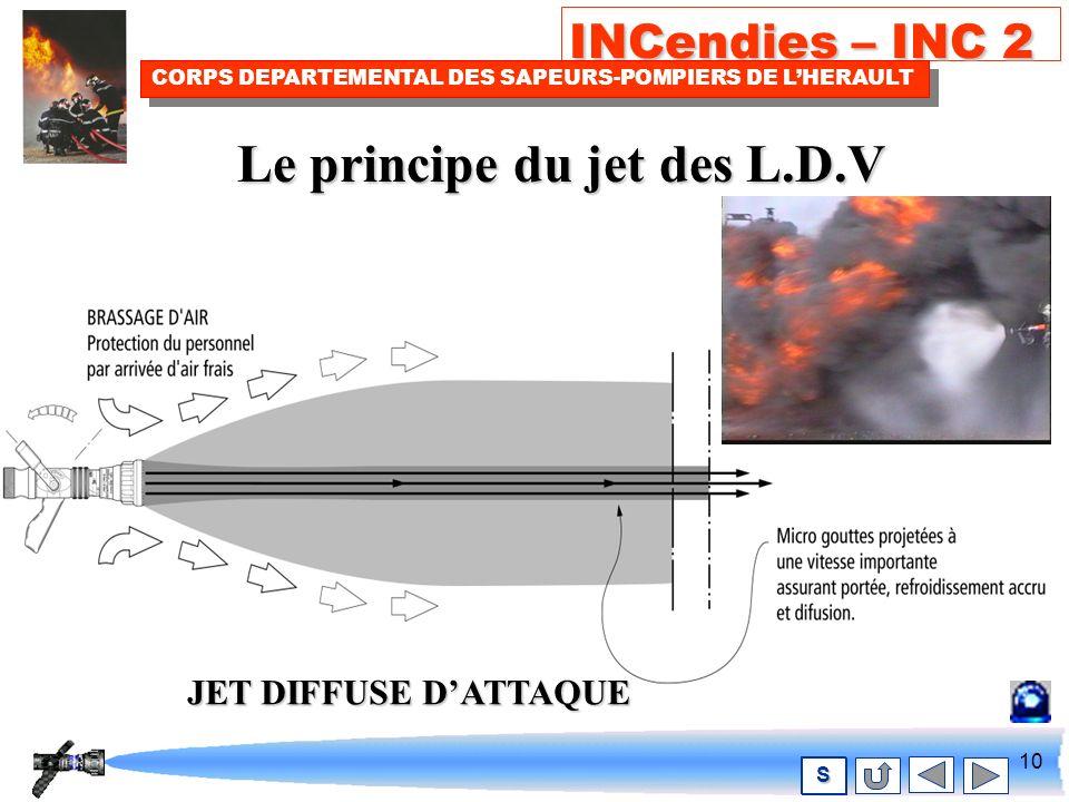 9 INCendies – INC 2 CORPS DEPARTEMENTAL DES SAPEURS-POMPIERS DE LHERAULT S L.D.V. DE TYPE PROTEK
