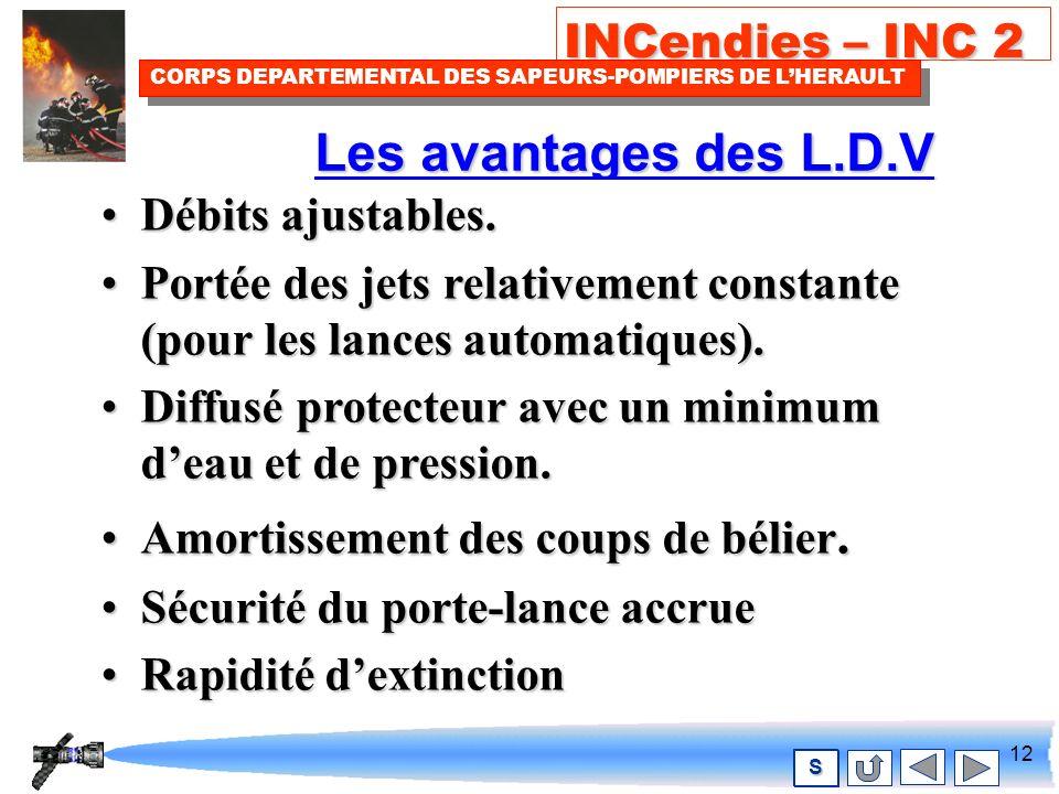 11 INCendies – INC 2 CORPS DEPARTEMENTAL DES SAPEURS-POMPIERS DE LHERAULT S JET DIFFUSE DE PROTECTION