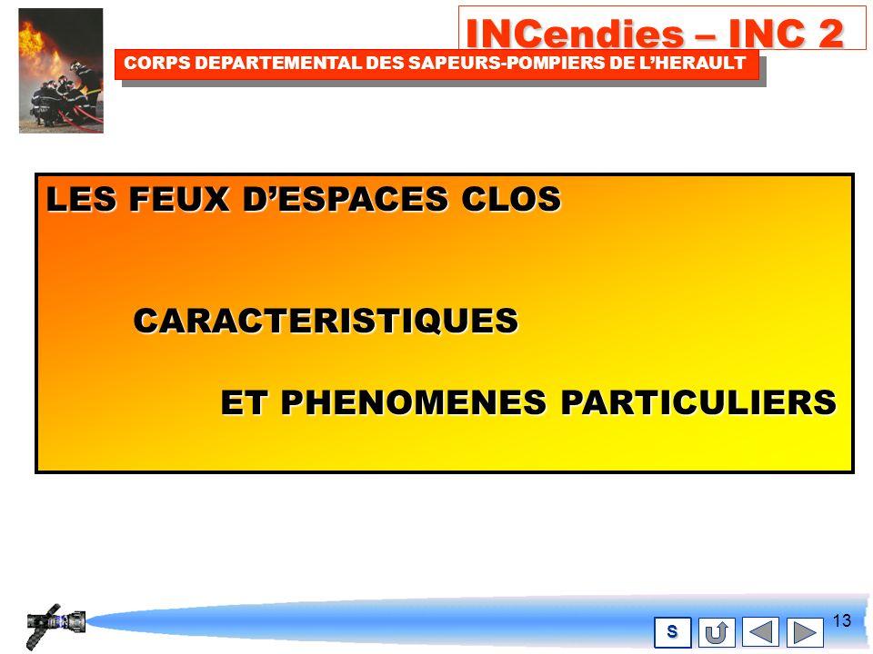 12 INCendies – INC 2 CORPS DEPARTEMENTAL DES SAPEURS-POMPIERS DE LHERAULT S Les avantages des L.D.V Débits ajustables.Débits ajustables.