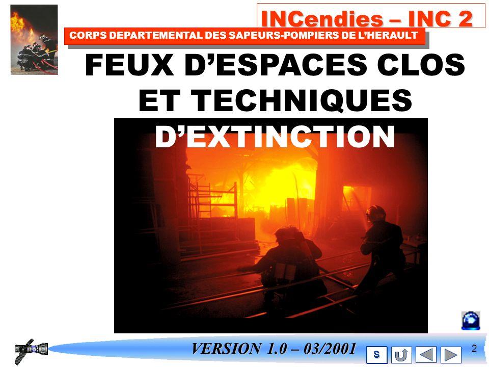 1 INCendies – INC 2 CORPS DEPARTEMENTAL DES SAPEURS-POMPIERS DE LHERAULT S
