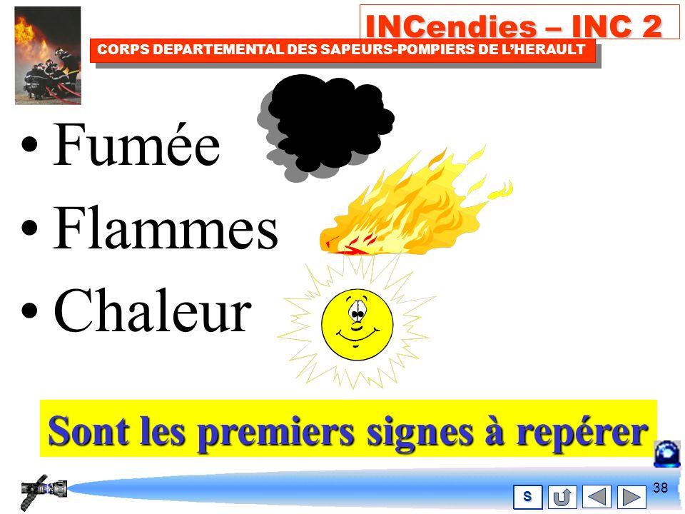 37 INCendies – INC 2 CORPS DEPARTEMENTAL DES SAPEURS-POMPIERS DE LHERAULT S COMMENT .