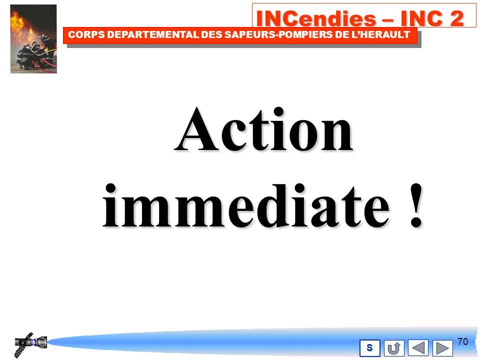 69 INCendies – INC 2 CORPS DEPARTEMENTAL DES SAPEURS-POMPIERS DE LHERAULT S Toucher.