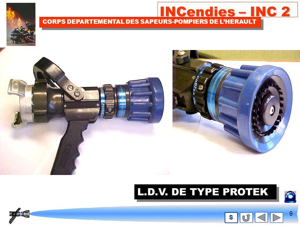 8 INCendies – INC 2 CORPS DEPARTEMENTAL DES SAPEURS-POMPIERS DE LHERAULT S L.D.V DE TYPE QUADRAFOG