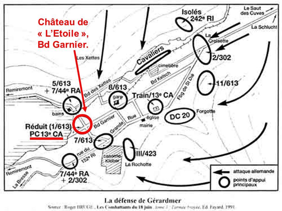 Château de « LEtoile », Bd Garnier.