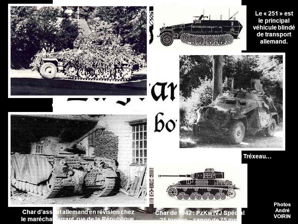Ces autocanons de 75 DCA ont été abandonnés par leurs servants à proximité du lac de Gérardmer sans avoir tiré… On les voit ici à la caserne Kléber. U