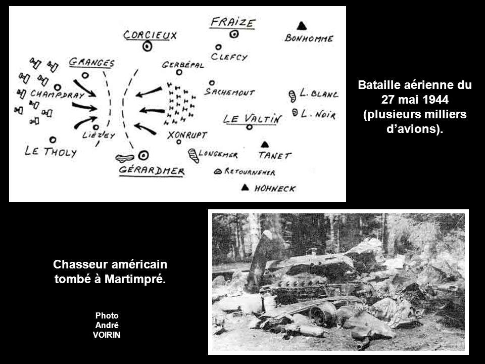 Bataille aérienne du 27 mai 1944 (plusieurs milliers davions).