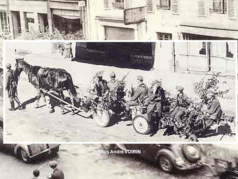 Bataille aérienne du 27 mai 1944 (plusieurs milliers davions). Chasseur américain tombé à Martimpré. Photo André VOIRIN