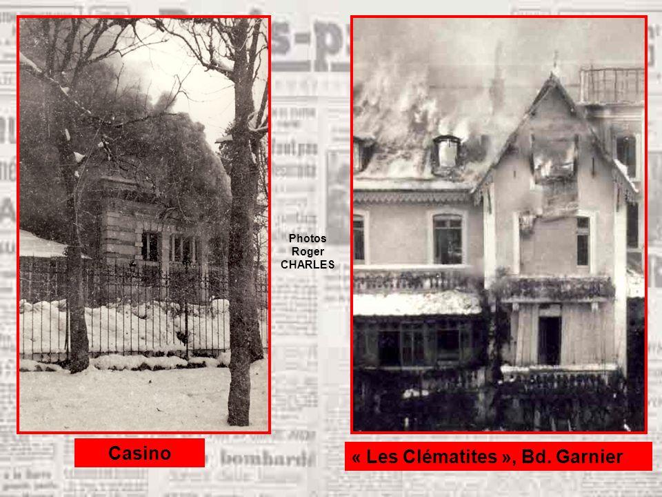 Casino « Les Clématites », Bd. Garnier Photos Roger CHARLES
