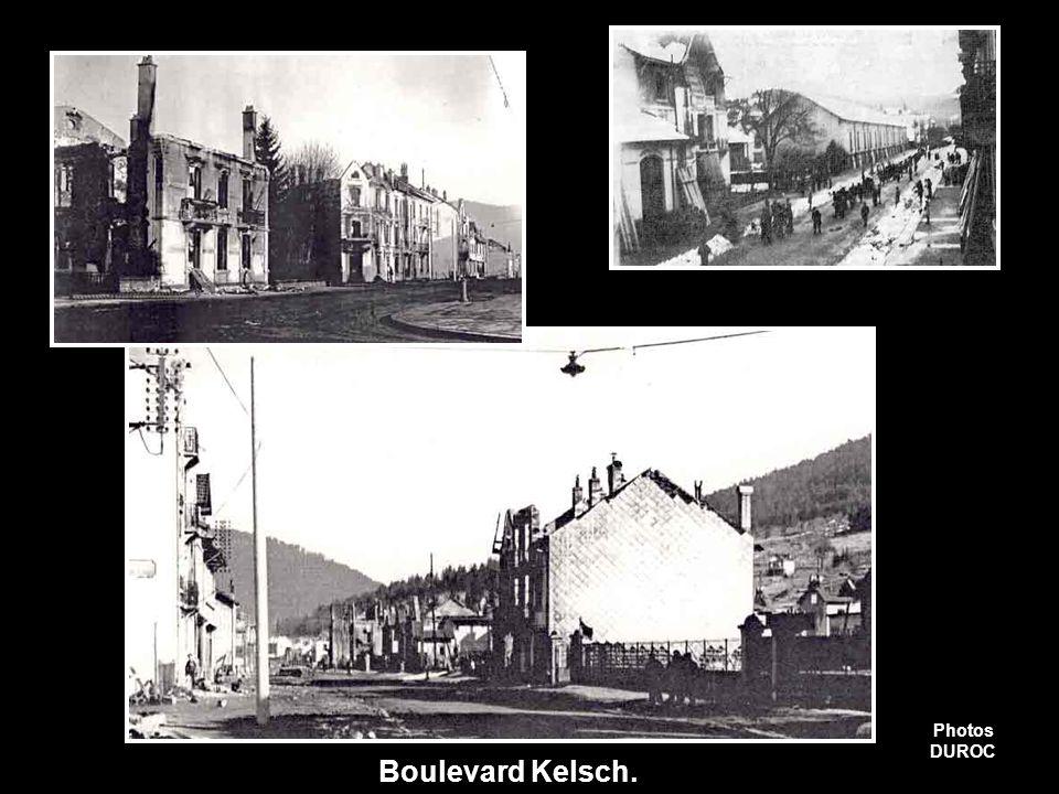 Boulevard Kelsch. Photos Duroc Photos DUROC