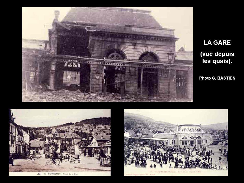 LA GARE (vue depuis les quais). Photo G. BASTIEN