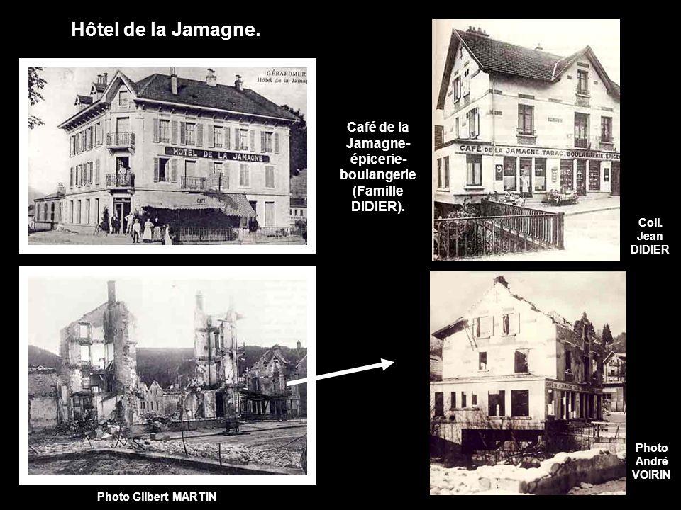 Hôtel de la Jamagne.Photo Gilbert MARTIN Photo André VOIRIN Coll.