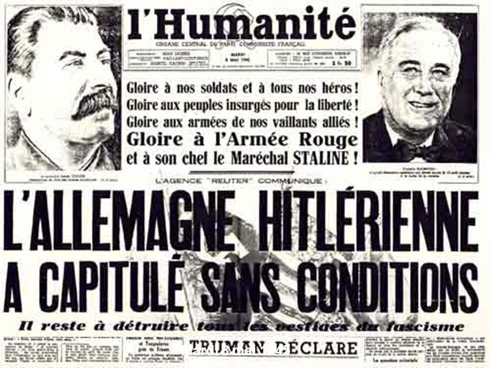 Mardi 8 mai 1945