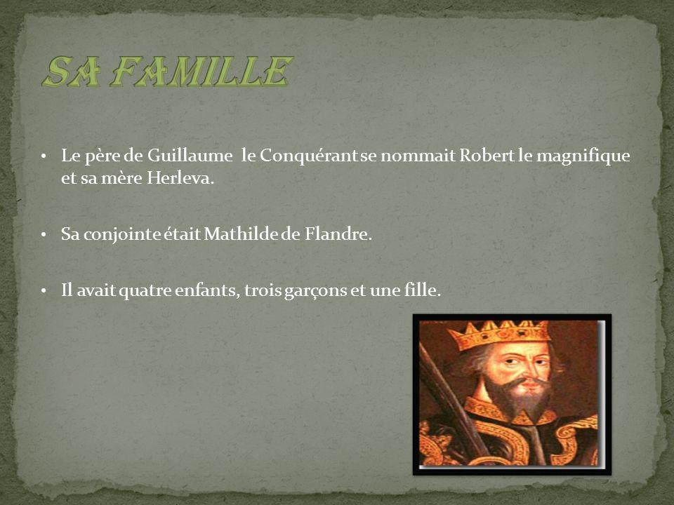 À lâge de huit ans, Guillaume devient duc de Normandie.