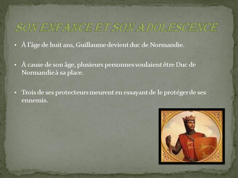 Il a été couronné le 25 décembre 1066.Son mandat a pris fin à sa mort le 9 septembre 1087.