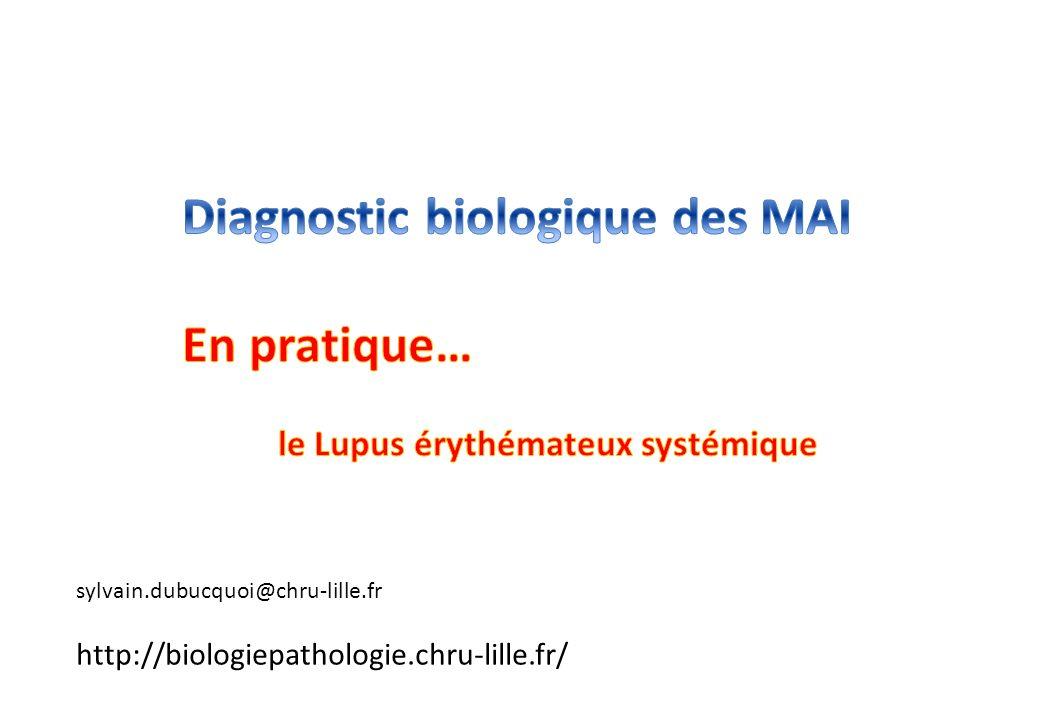 sylvain.dubucquoi@chru-lille.fr http://biologiepathologie.chru-lille.fr/