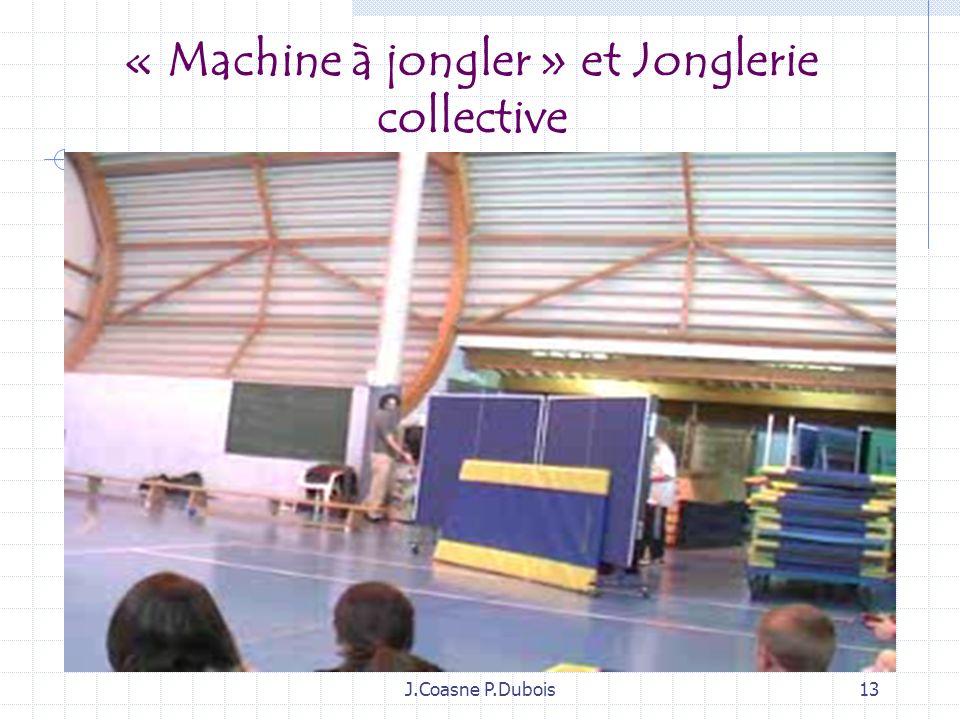 J.Coasne P.Dubois12 Complexifier sa machine à jongler par des contrastes de vitesse (le film qui déraille…)