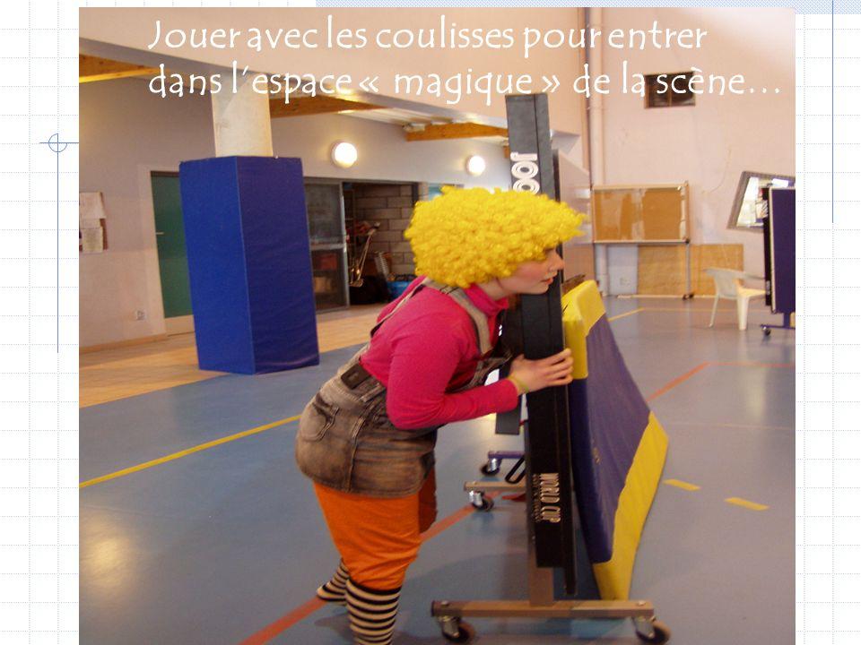 J.Coasne P.Dubois27 Espace de scène Espace S P E C T A T E U R s Sono bancs tableau coulisse Espace Présentation