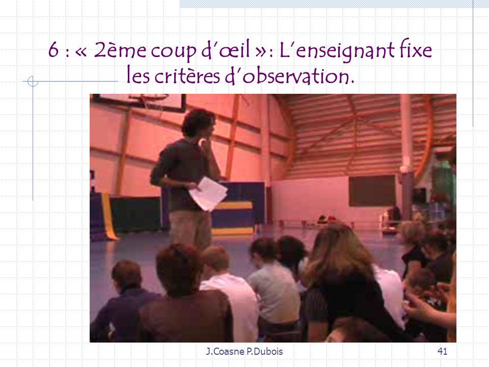J.Coasne P.Dubois40 5: Discussion- débat dans le groupe après le débat acteur spectateur… négocier, choisir, stabiliser un temps pour préparer un éven