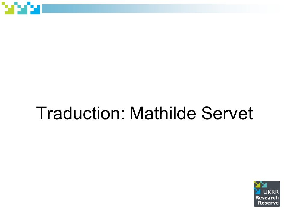 Traduction: Mathilde Servet