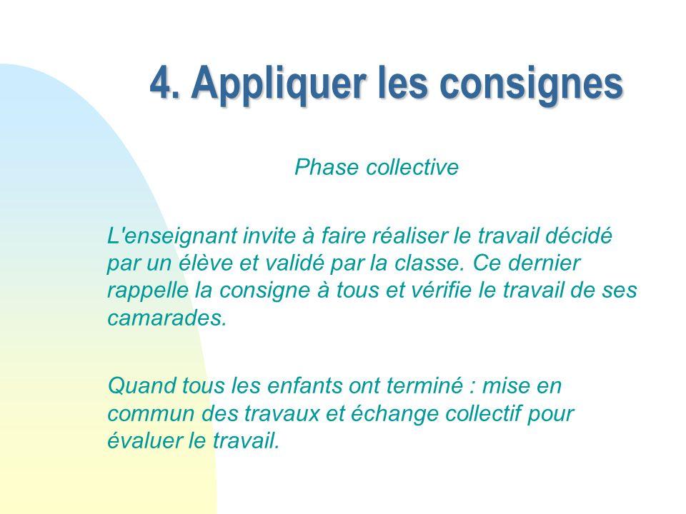 Conclusion Conclusion Le travail est toujours introduit en phase collective afin de favoriser le travail de compréhension sur les consignes.