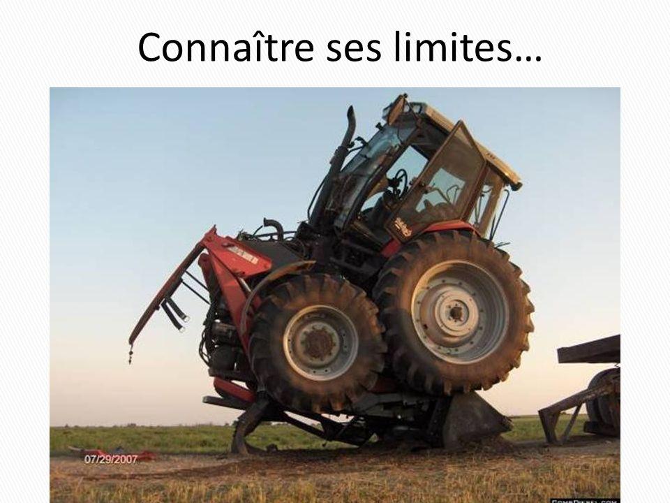 Connaître ses limites…