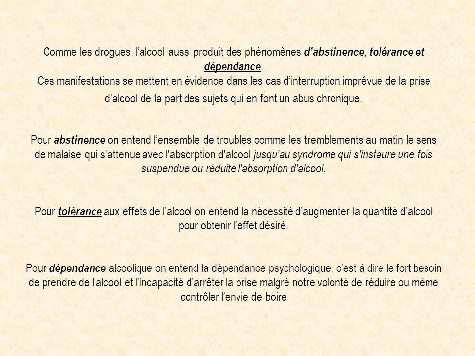 EFFETS POSITIVES DE LALCOOL