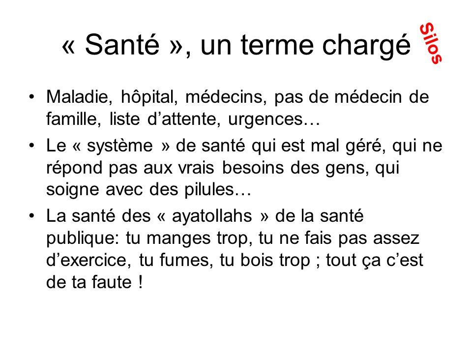 « Santé », multiples sens « culturels »