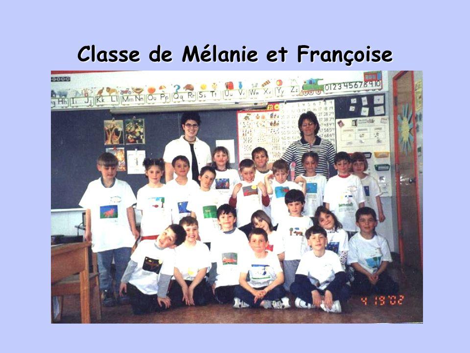 Classe de Mélanie et Françoise