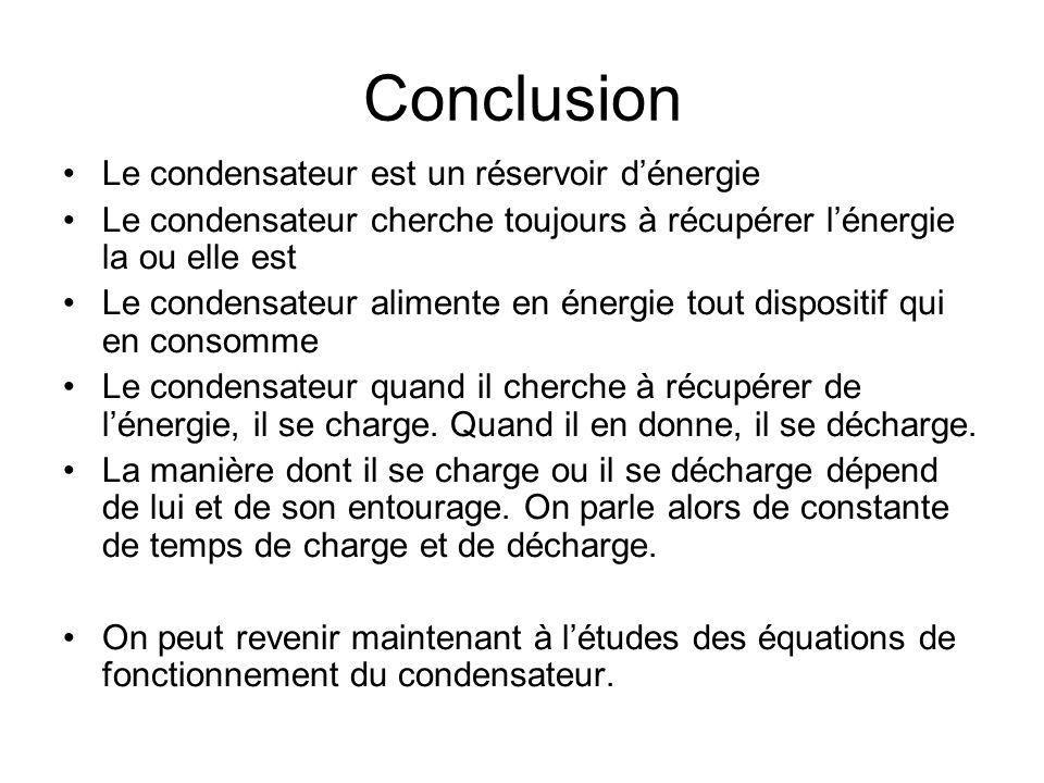 Quelle pédagogie pour lenseignement des technologies exemples dapplications – le condensateur Effet cumulatif Le condensateur est soumis à un signal c