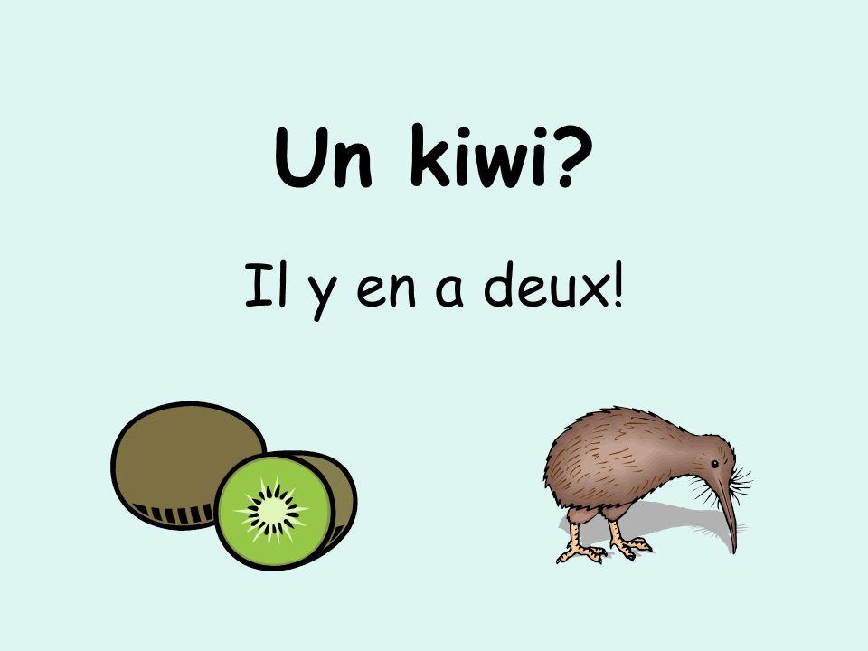 Un kiwi? Il y en a deux!