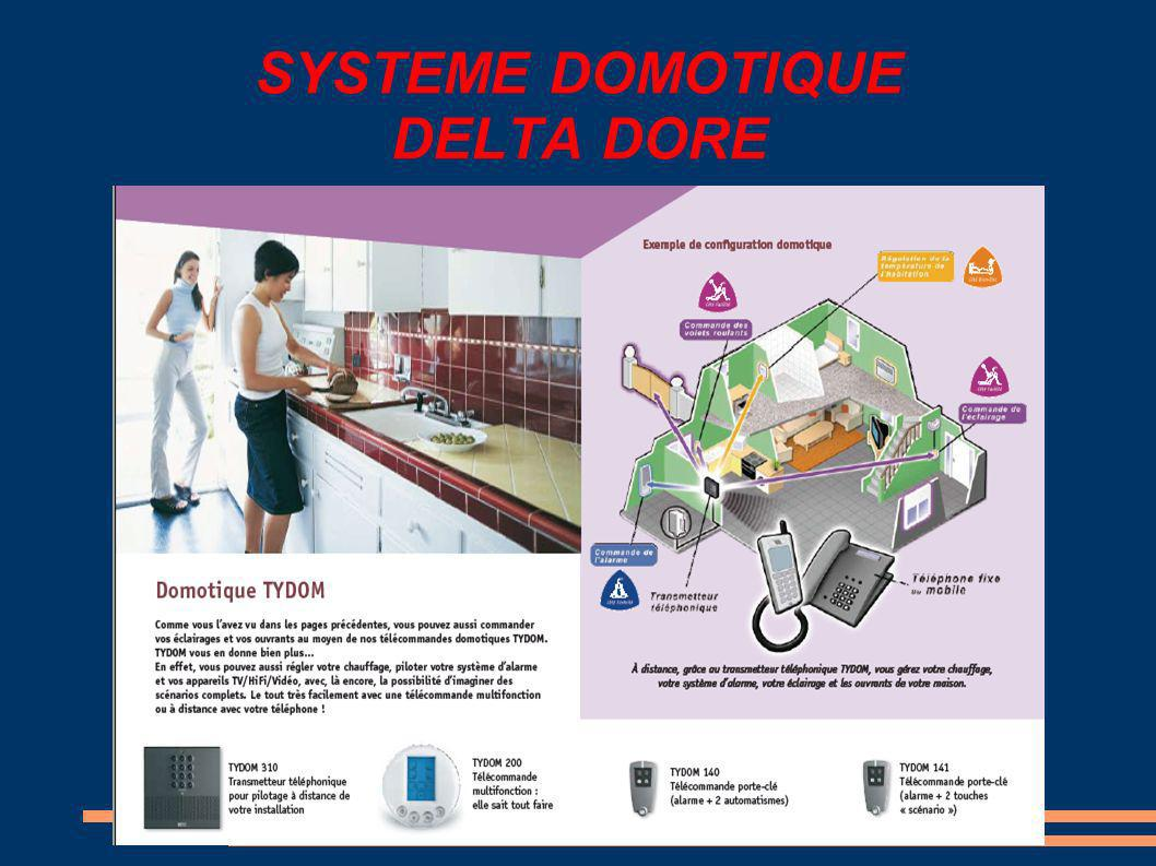 SYSTEME DOMOTIQUE DELTA DORE