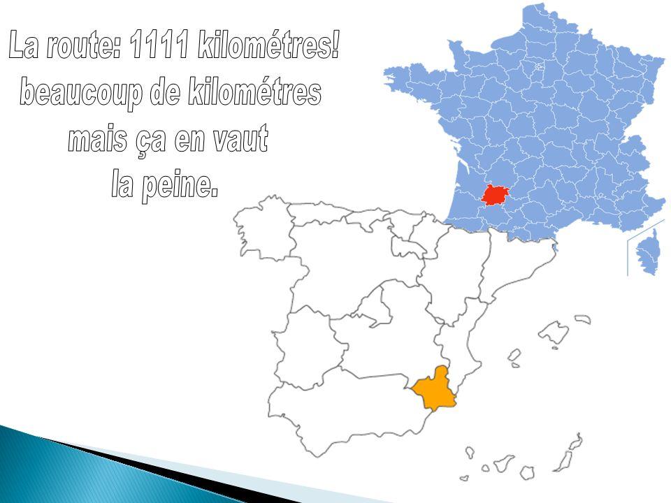 Ville de Cieza où se trouve lI.E.S Los Albares dans la région de Murcie.