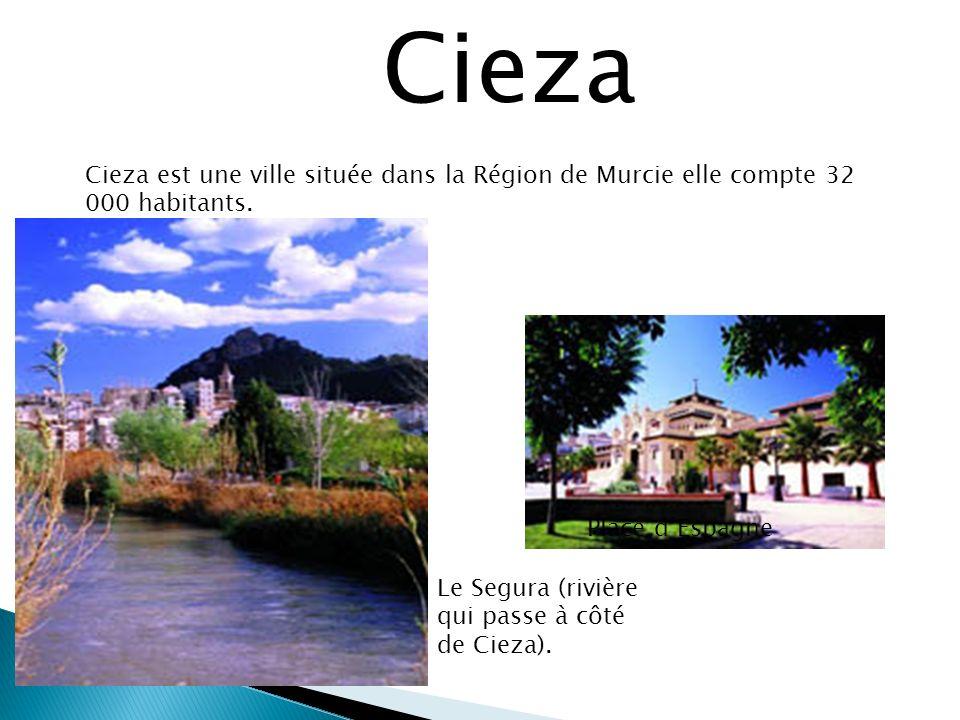 Cieza est une ville située dans la Région de Murcie elle compte 32 000 habitants.