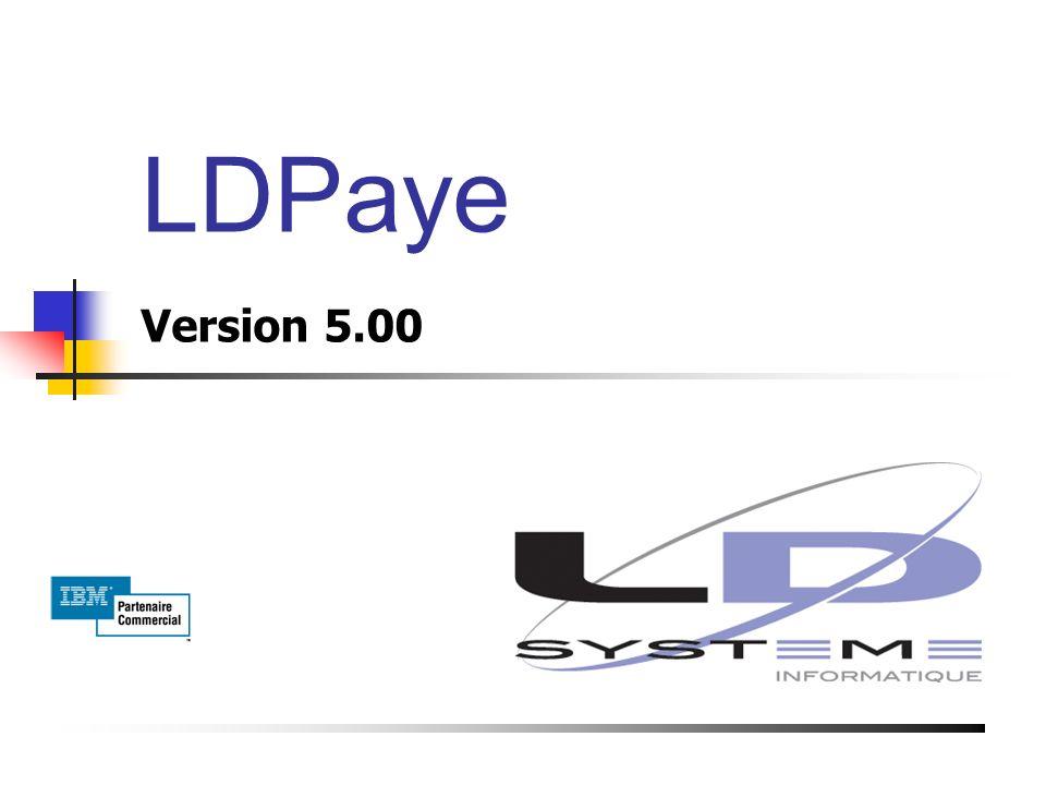 LDPaye Version 5.00 Présentation du 19 Mai 2003 à Bourg de Péage