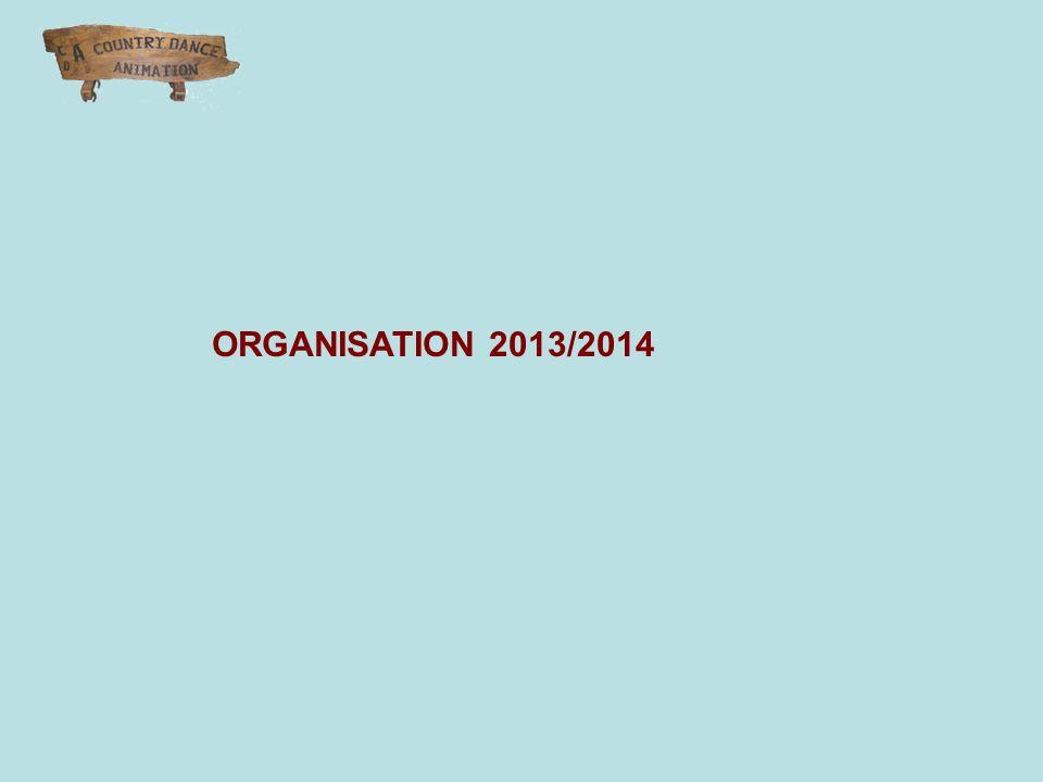 ORGANISATION 2013/2014