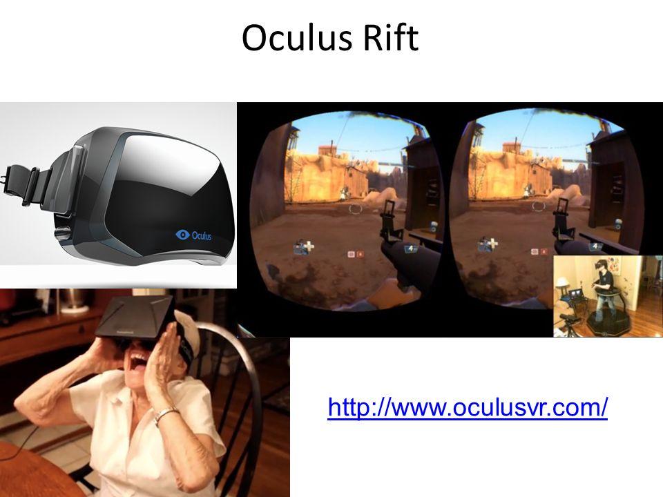 Oculus Rift http://www.oculusvr.com/