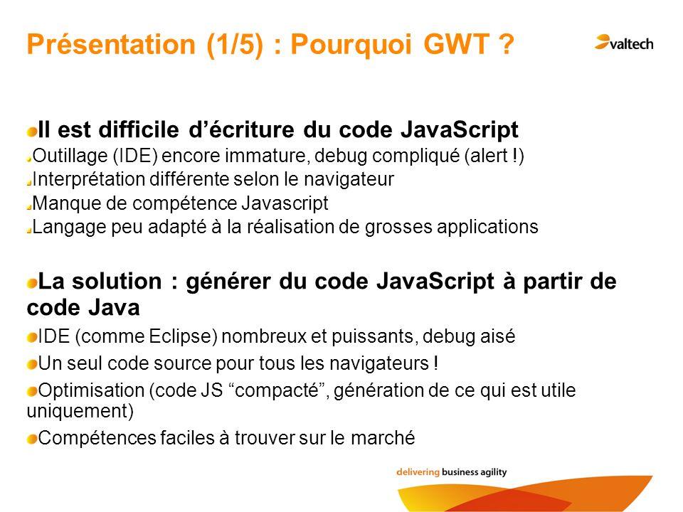Itération 3 : appel de services distants GWT apporte d origine une fonctionnalité d appels distants de méthode, RPC (Remote Procedure Call) Nous allons utiliser GWT RPC pour lancer nos recherches sur le serveur Tomcat embarqué dans la console GWT