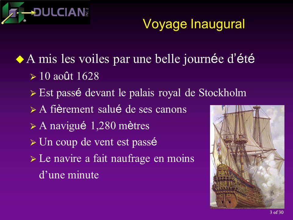 4 of 30 Quelle est la pertinence de la Vasa.
