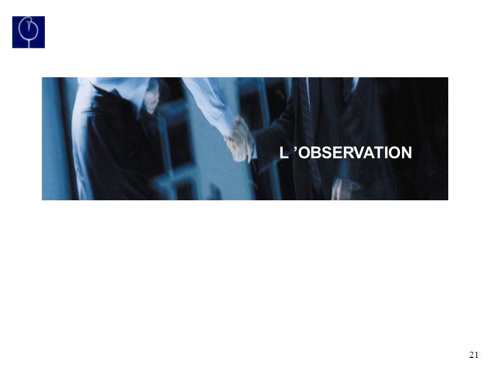 21 L OBSERVATION