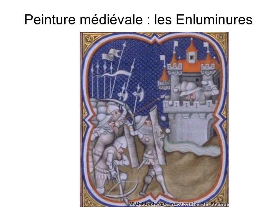 Peinture médiévale : les Enluminures
