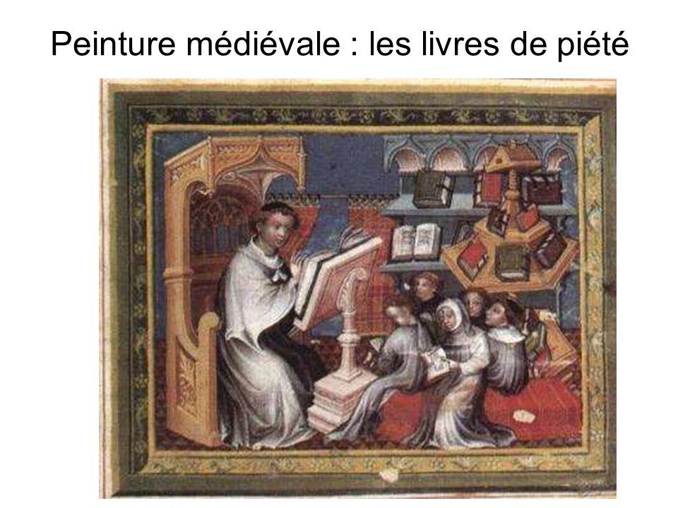 Peinture médiévale : les livres de piété