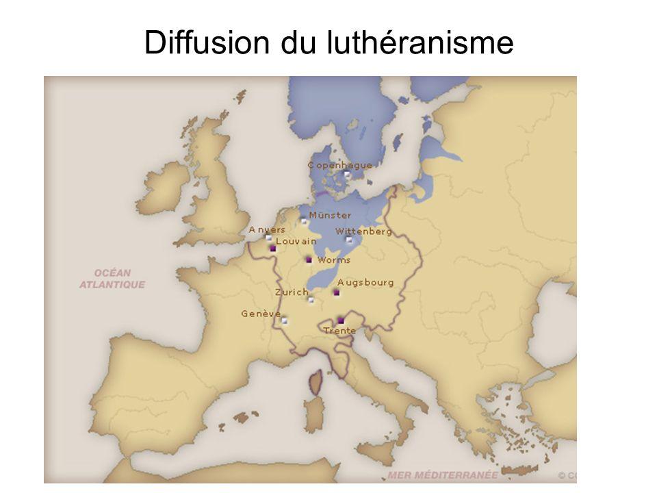 Diffusion du luthéranisme